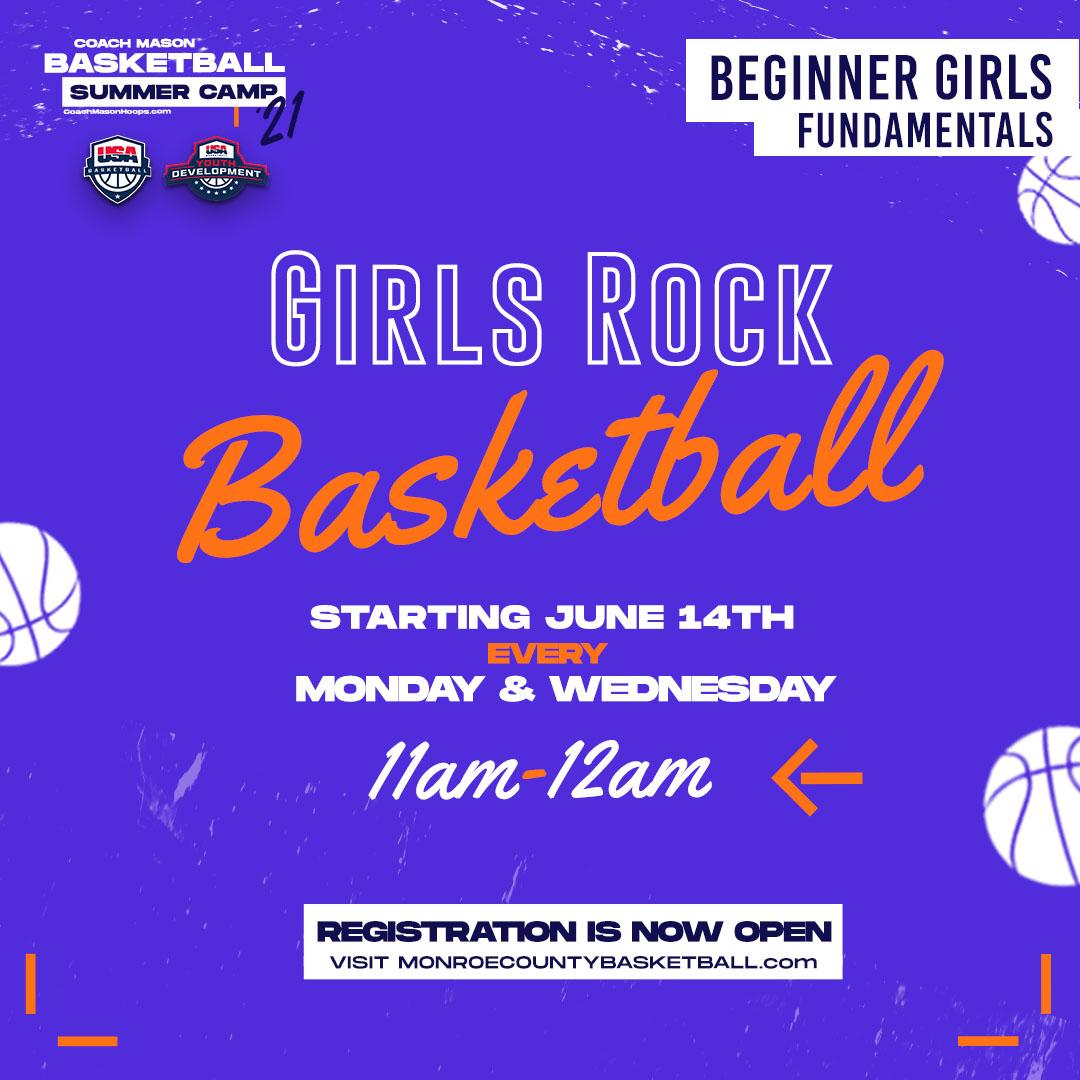 Girls Rock Basketball Fundamentals For Beginners