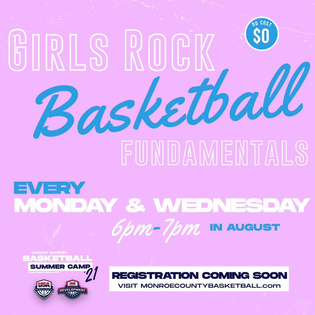 Girls Rock Basketball - Free