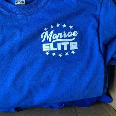 """Monroe Elite """"1st Season"""" Blue Tee-Shirt"""