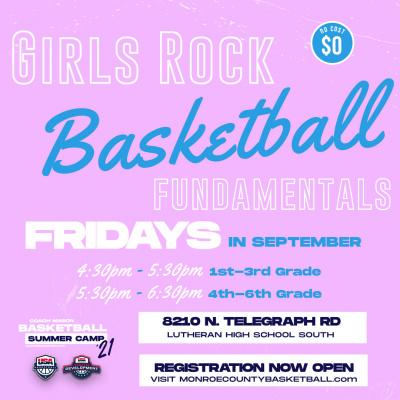 Beginner Girls Basketball Fundamentals
