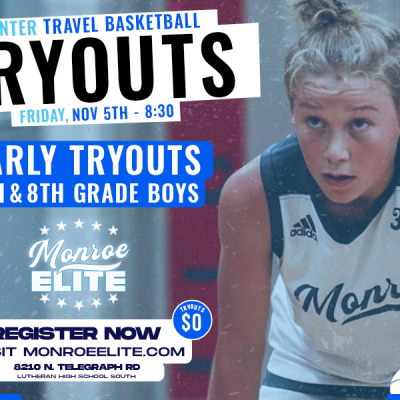 7th & 8th Grade Early Tryouts